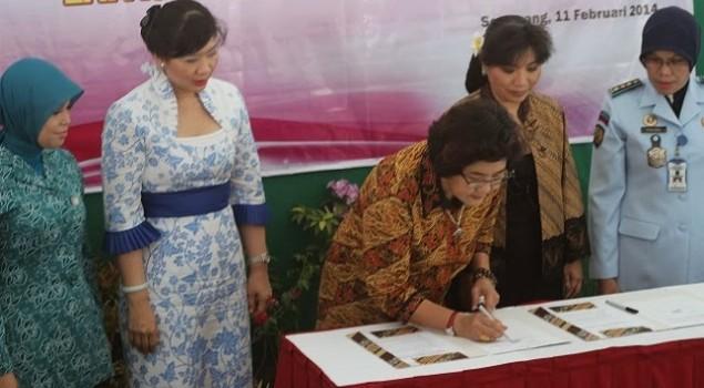 Lapas Wanita Bulu Gandeng Anne Avantie dan Undip Untuk Melatih Warga Binaan