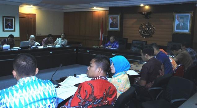 Ditjenpas Evaluasi Penyusunanan Cetak Biru Pembaharuan Pelaksana Sistem Pemasyarakatan