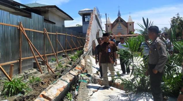 Tembok Lapas Rantauprapat Segera Diperbaiki
