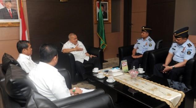 Gubernur Bantu Perbaikan Lapas Palembang