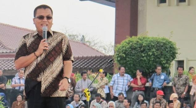 Wamenkumham Komit Berantas Pungli didalam Lapas