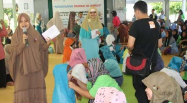 Hijab Show di Lapas Wanita Meriah