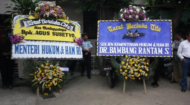 Pemakaman Agus Susetyo (Pegawai Lapas Yogyakarta)