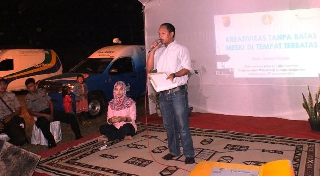Warna Lapas Pekalongan menjadi Narasumber Talkshow Jambore Perpusnas Se-Kota Pekalongan