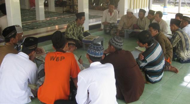 138 WBP Rutan Trenggalek Ikuti Pembinaan Rohani Islam