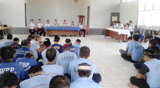 109 WBP Lapas Watampone Ikuti Sidang TPP