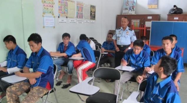 83 Penghuni Lapas Anak Tomohon Ikut Program Kesetaraan Paket A, B, C