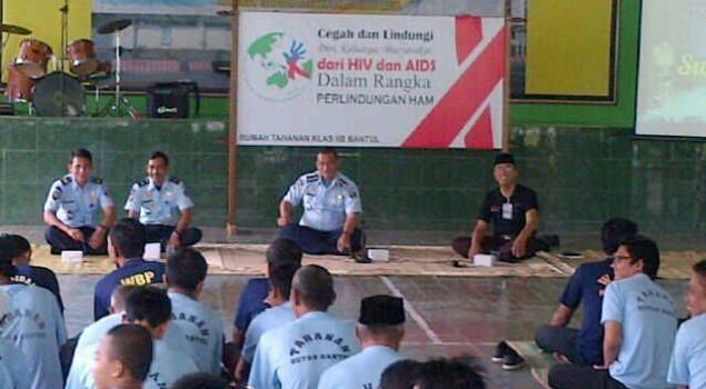 RUTAN BANTUL BERIKAN EDUTAIMENT TENTANG HIV AIDS BAGI WBP