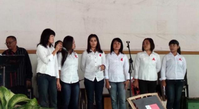 Ratusan Tahanan Rutan Solo Berjoget Bersama