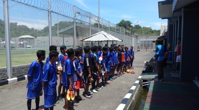 Laga Persahabatan Sepak Bola Sebagai Penyegaran untuk WBP