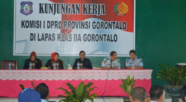 Didukung, Pembangunan Lapas Baru di Kab. Gorontalo Utara