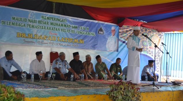 Lapas Tenggarong Peringati Maulid Nabi Muhammad SAW