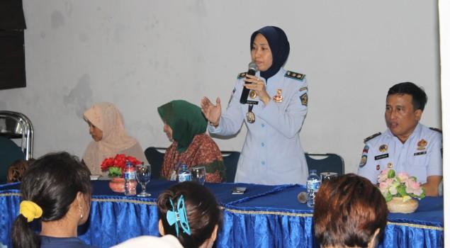 WBP Wanita Lapas Bogor Dibekali Pelatihan Menyulam