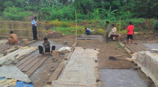 Rutan Pinrang Bina WBP Dengan Keterampilan Usaha Batu Merah