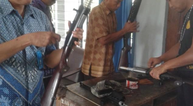 Tingkatkan Keamanan Lapas Watampone Dengan Perawatan Senjata