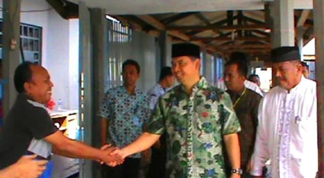 Walikota Sy Fasha Peringati Maulid Nabi Di Lapas Kelas II A Jambi