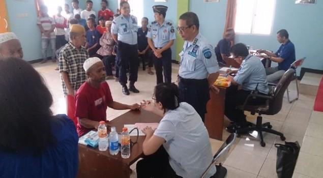 Jaga Kesehatan WBP, Lapas Narkotika Bandung Adakan Program Pengobatan Gratis