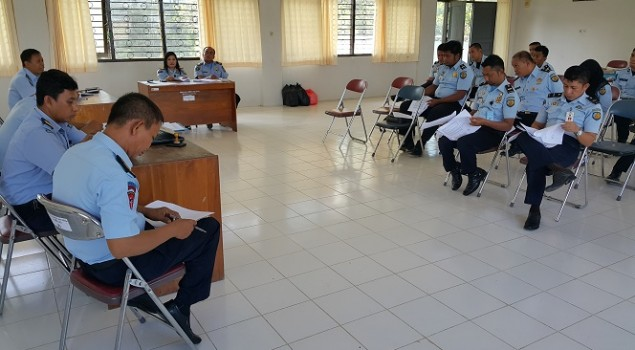 Rupbasan Kendari Gelar  RAT Koperasi Dan Briefing Awal Tahun
