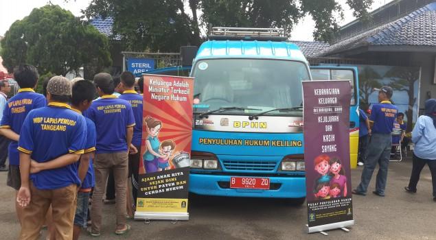 Lapas Pemuda Tangerang Kedatangan Mobil Penyuluhan Hukum Keliling
