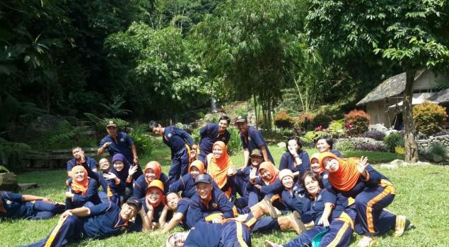 Ciptakan Team Work, Bapas Bogor Gelar Outbond