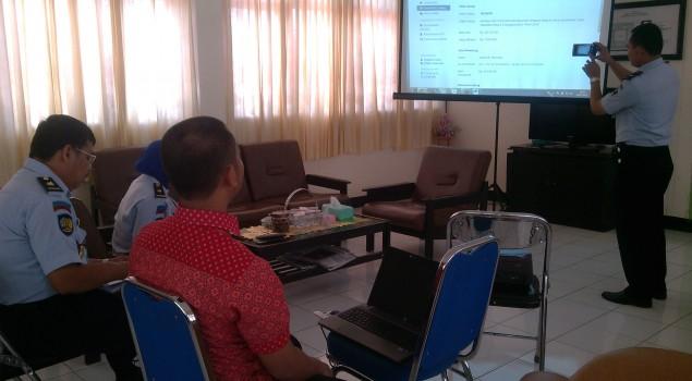 Lapas Narkotika Sungguminasa Terima Kunjungan Pejabat Lelang KPKNL Makassar