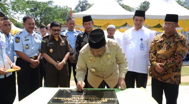 Walikota Sibolga Resmikan Masjid Untuk Napi dan Tahanan