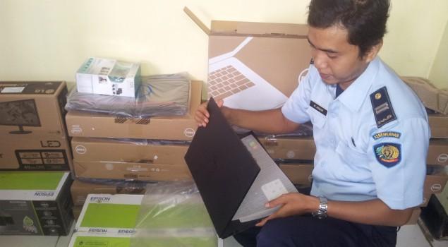 PK Bapas Watampone Akan Difasilitasi Laptop