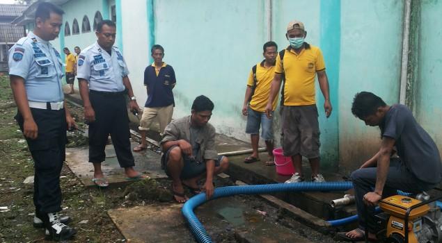 Perhatikan Kebersihan, Rutan Tanjung Redeb Lakukan Pembenahan Sanitasi