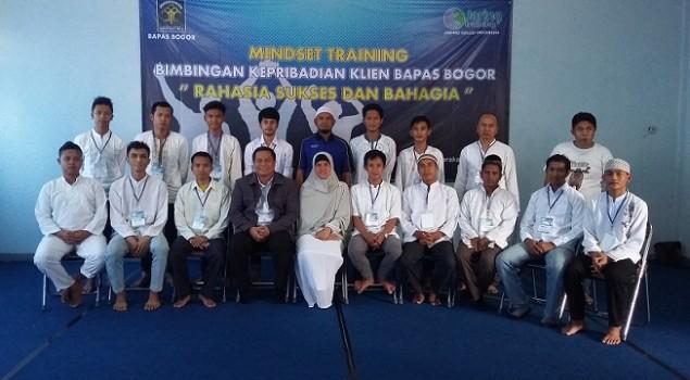 Bapas Bogor Gelar Mindset Training bagi 17 Klien