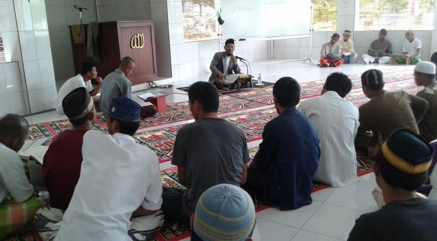 Semangat Warga Binaan Lapas Nunukan Ikuti Kegiatan Kajian AL-Quran
