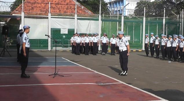 Apel Bersama UPT Pemasyarakatan Di Wilayah Jakarta Pusat
