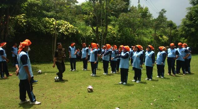 Cerianya Bapas Surabaya dalam One Team, One Spirit, One Goal