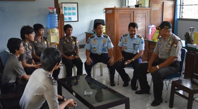 Lapas Watampone Terima Kunjungan Sambang Patroli Polres Bone