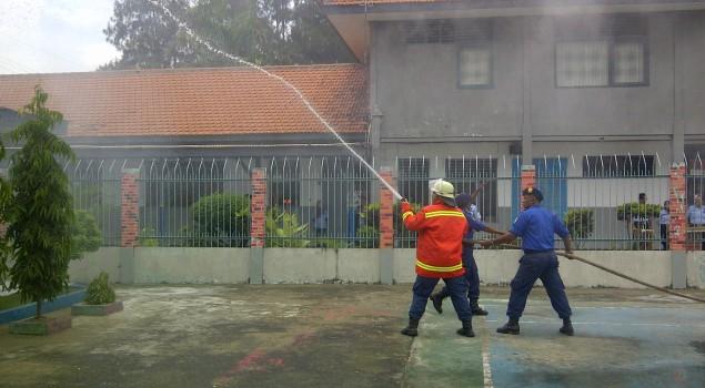 Kobaran Api Di Lapas Lamongan Akhirnya Berhasil Dipadamkan Petugas