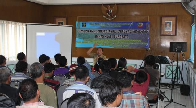 Tingkatkan Kepercayaan Diri Klien, Bapas Surabaya Gandeng Dinas Sosial