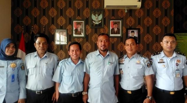 Tim Inspektorat Jenderal Kemenkumham Sambangi Lapas Narkotika Sungguminasa