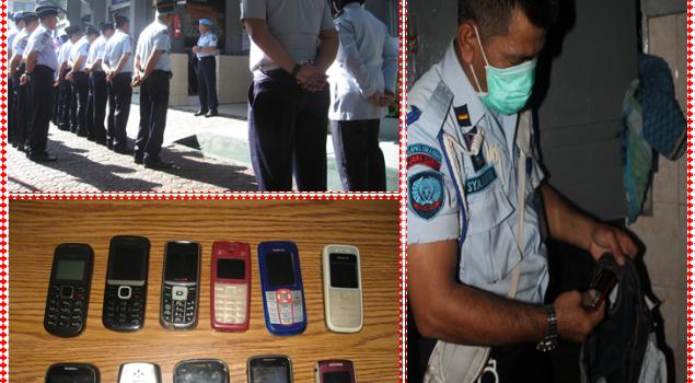 Kalapas Sukabumi Instruksikan KPLP Laksanakan Sidak Terhadap WBP