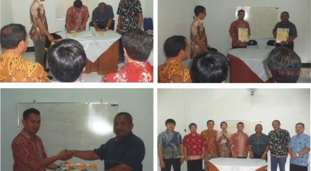 Penandatanganan Kerjasama Pengolahan Batu Akik Rutan Cirebon
