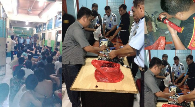 Rutan Salemba Amankan 25 Unit Hanphone Hasil Sidak Kamar Hunian