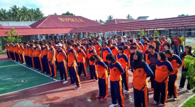"""""""Baju Sehat"""" Seragam Olahraga Baru WBP Design Karutan Pinrang"""