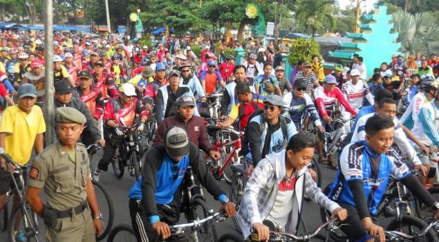 10 Ribu Orang Ikuti Fun Bike Lapas Tuban