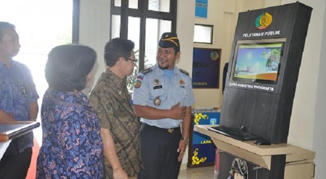 Kakanwil Resmikan Pelayanan Publik Lapas Narkotika Yogyakarta