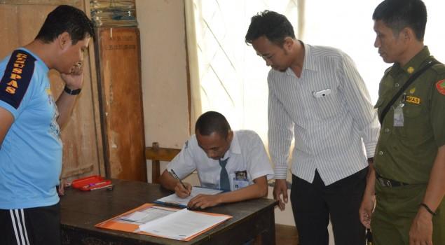 Seorang Siswa Laksanakan UN di Lapas Watampone
