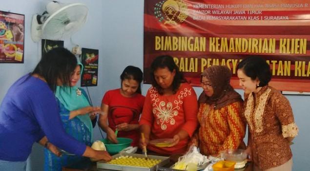 Bapas Surabaya Siapkan Klien Mandiri dan Berguna