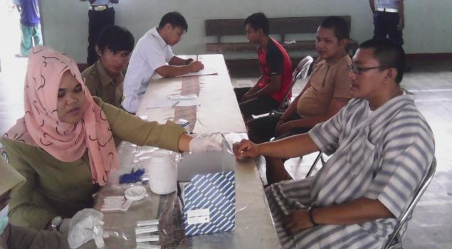 Rutan Prabumulih Rutin Periksa Kesehatan WBP