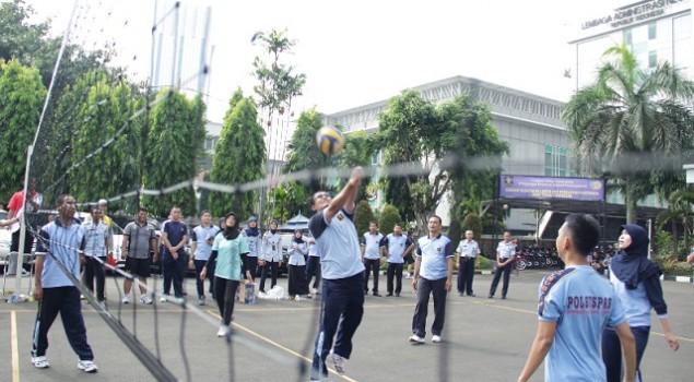 Pekan Olahraga HARBAPAS di Ditjen PAS Resmi Dibuka