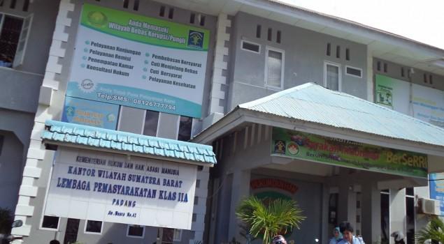 Lapas Muaro Padang Tingkatkan Pengawasan Warga Binaan