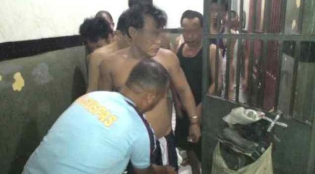 Perangi Narkoba, Petugas Rutan Dumai Melakukan Razia Terhadap Warga Binaan