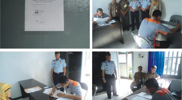 Rutan Cirebon Fasilitasi Pelaksanaan Ujian Nasional Untuk Tahanan