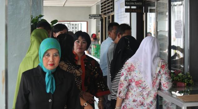 Istri Gubernur Babel Borong Produk WBP Lapas Pangkalpinang